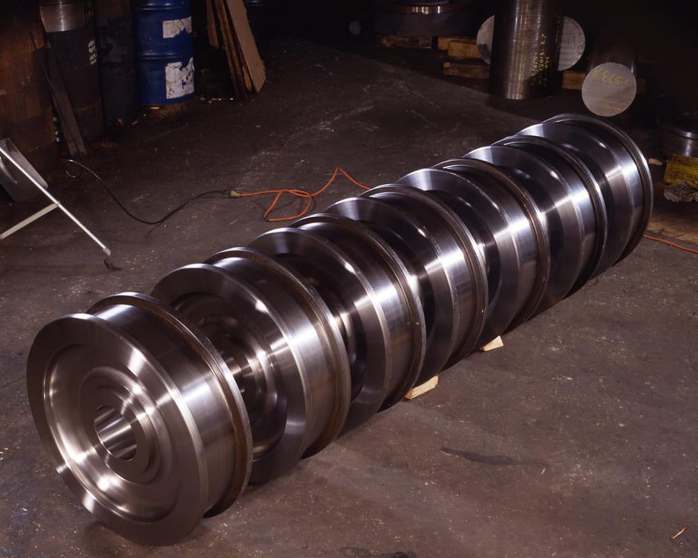 Monorail Industries - ensemble de roues